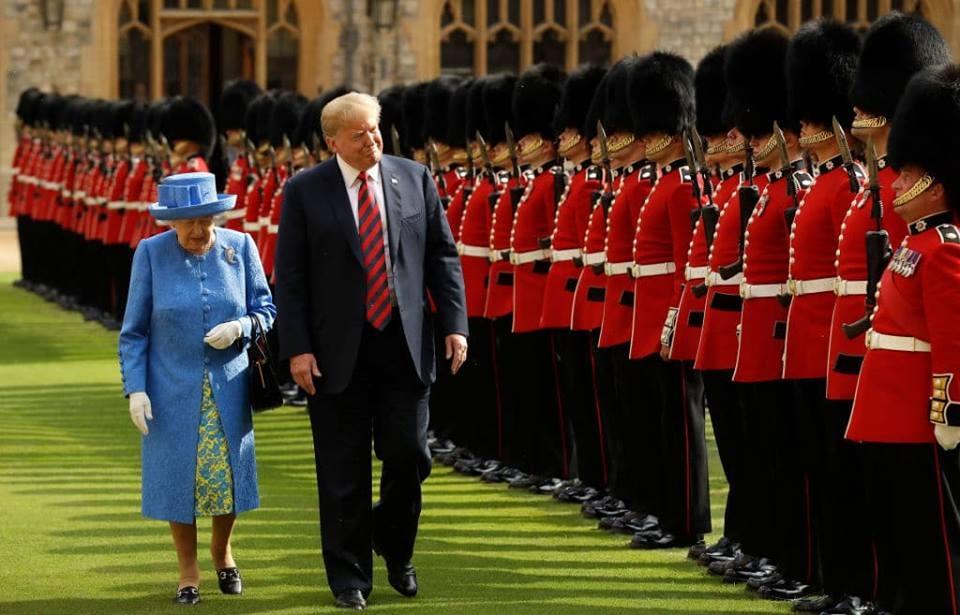 Trump și Regina