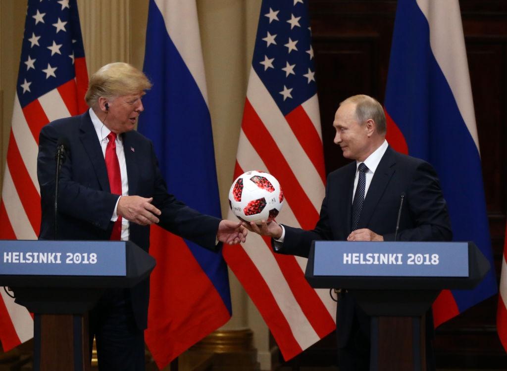 Întâlnirea Trump-Putin de la Helsinki