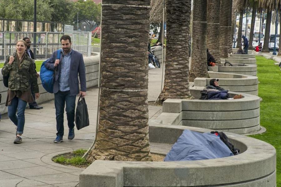 California sărăcie