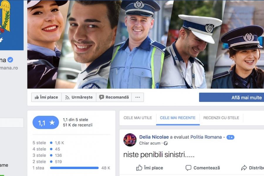 Facebook Poliția Română