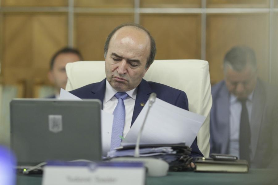 Tudorel Toader - ședința de Guvern