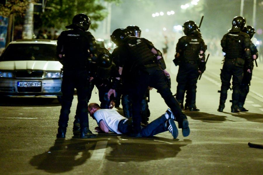 Violente 10 august
