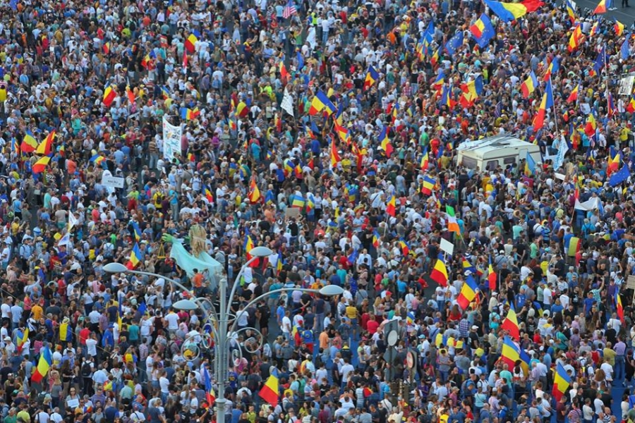 Protest 10 august - (Foto: Dan Mihai Bălănescu)