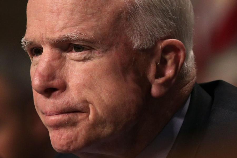 Senatorul McCain