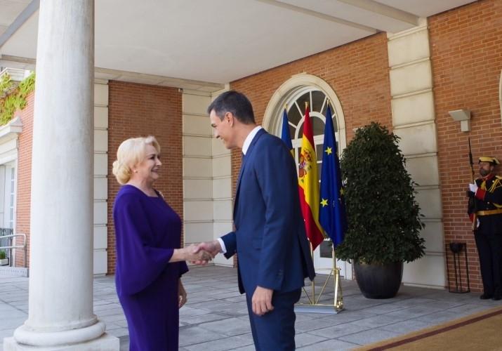 Dăncilă la Madrid