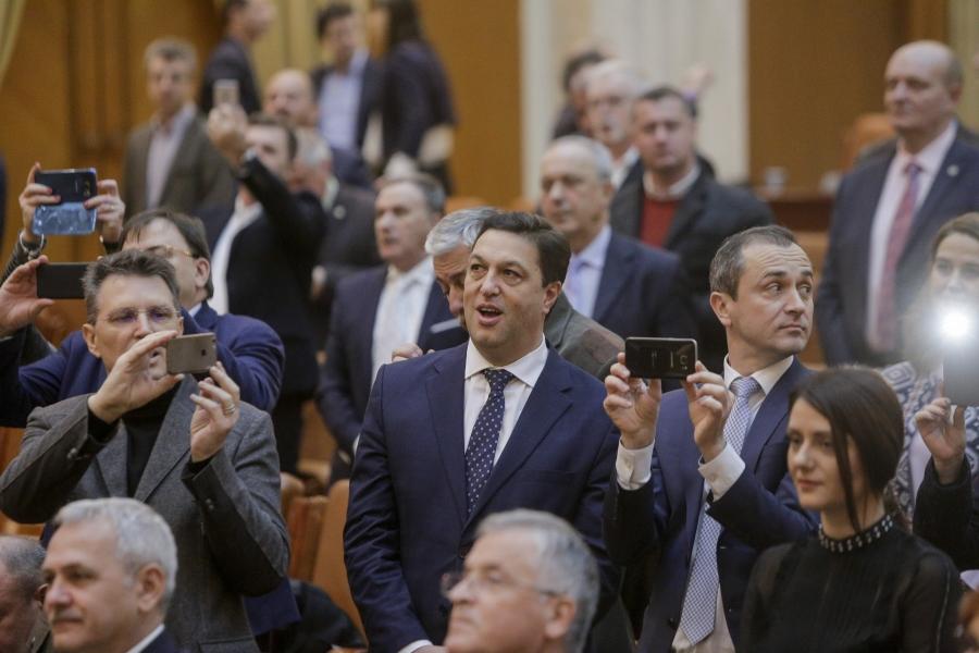 Serban Nicolae in Parlament - Foto George Calin