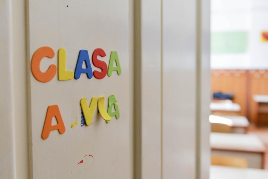 Ușă de clasă
