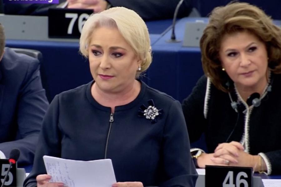 Dăncilă, plenara PE