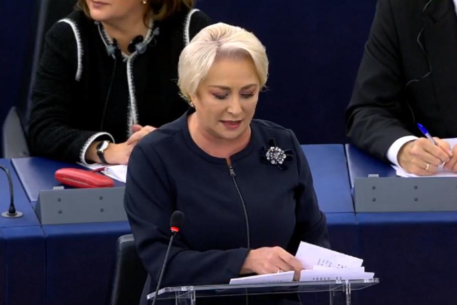 Viorica Dancila in Parlamentul European