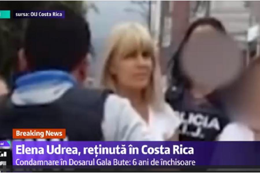 Elena Udrea - Interpol