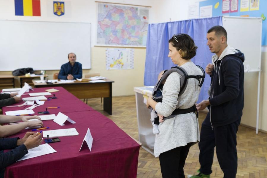 Vot referendum Timișoara