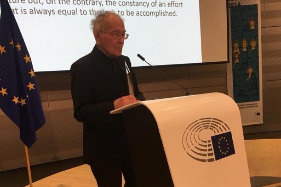 Mihai Șora la Parlamentul European