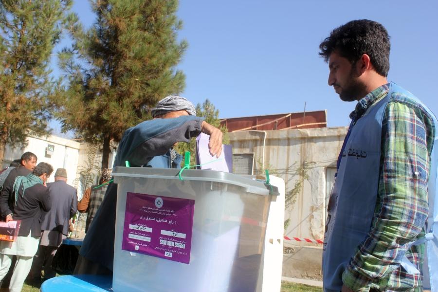 Alegeri in Afganistan