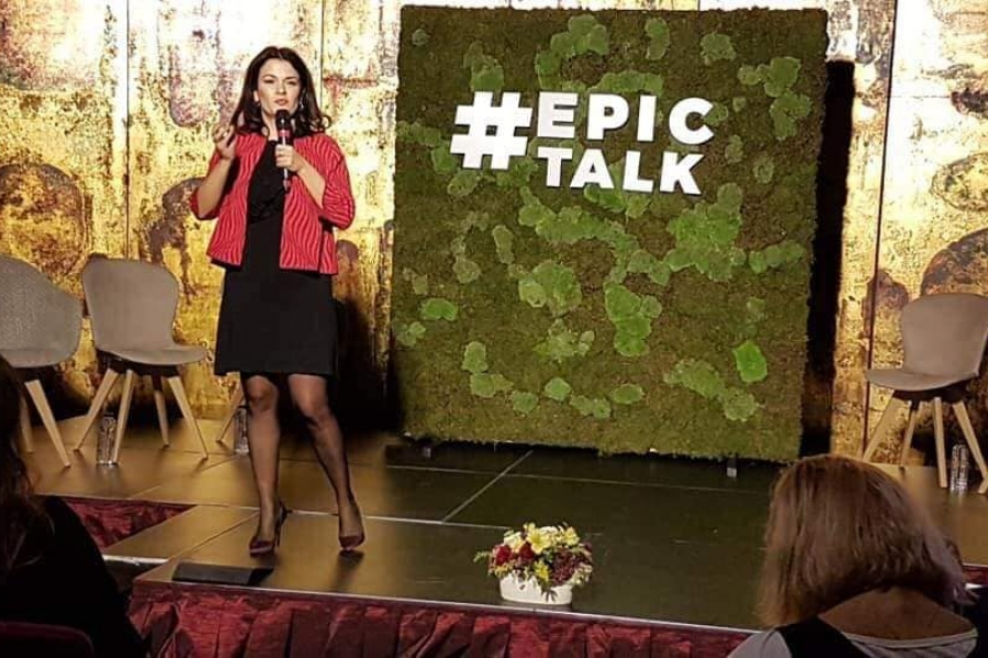 Oana Moraru, Epic Talk