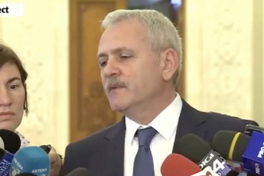 Liviu Dragnea nervos - captura video