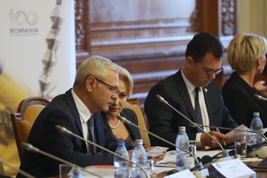 Liviu Dragnea - Viorica Dancila - ministri