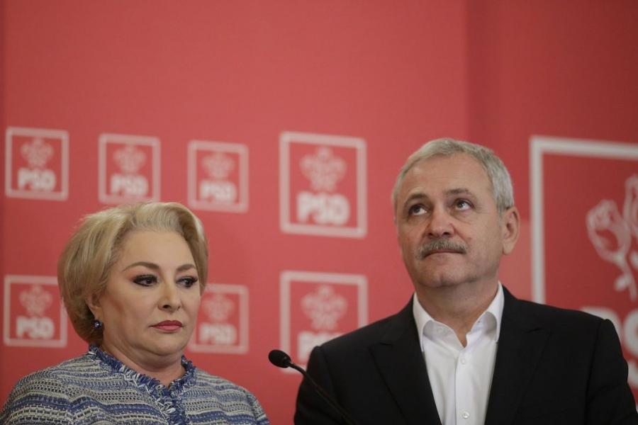 Viorica Dăncilă și Liviu Dragnea, BPN