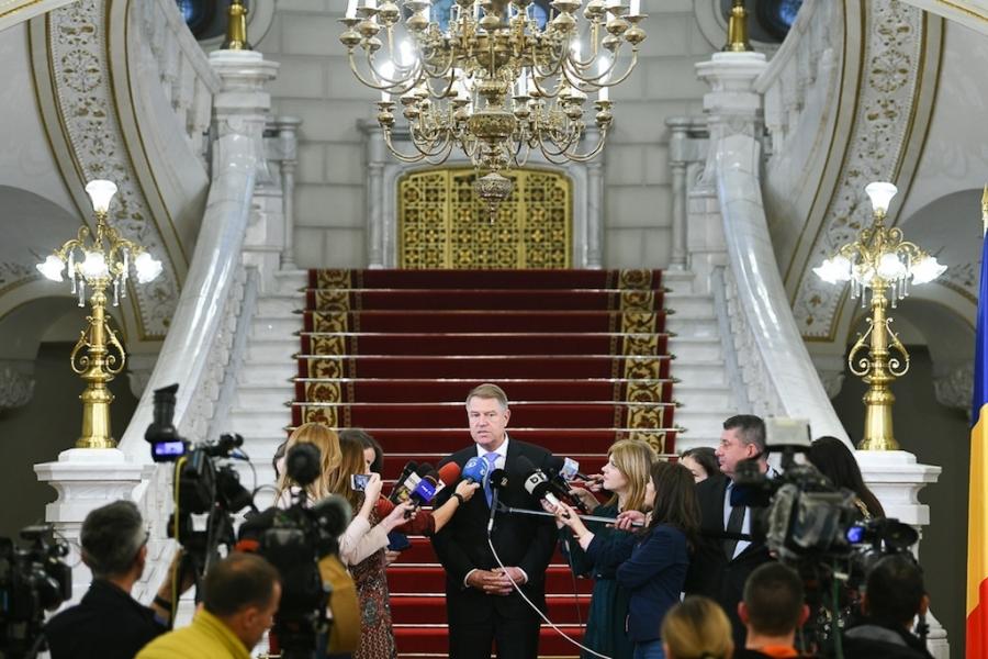 Klaus Iohannis, declarație de presă Cotroceni