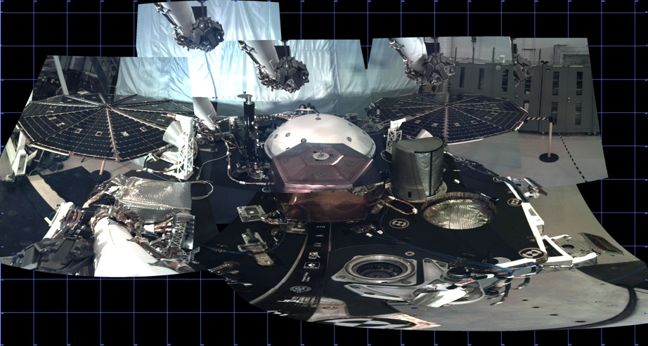 Modulul spaţial InSight a asolizat