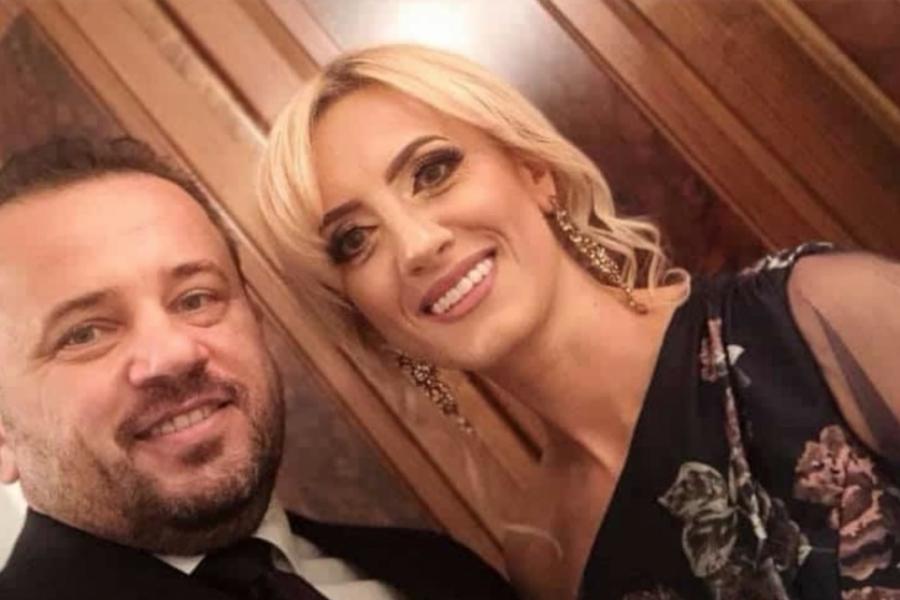 Liviu Pop și soția
