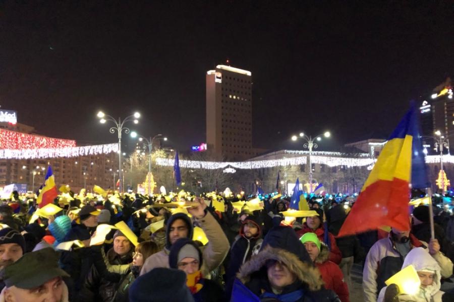 protest 1 decembrie - Foto Claudiu Pandaru