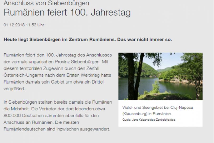 DPA  - ZDF - centenar