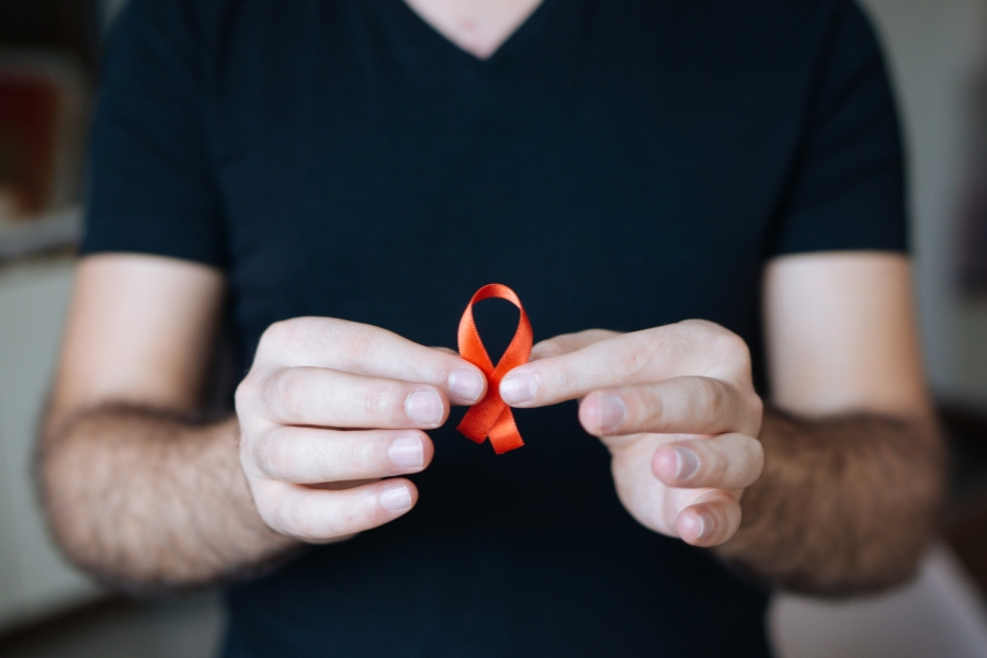 Pacient cu HIV