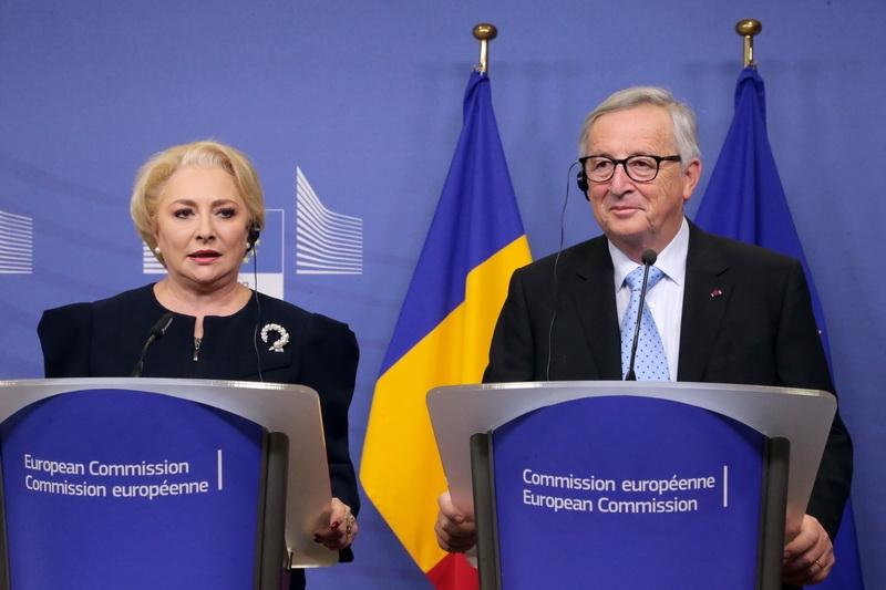 Viorica Dancila - Jean Claude Juncker - gov.ro