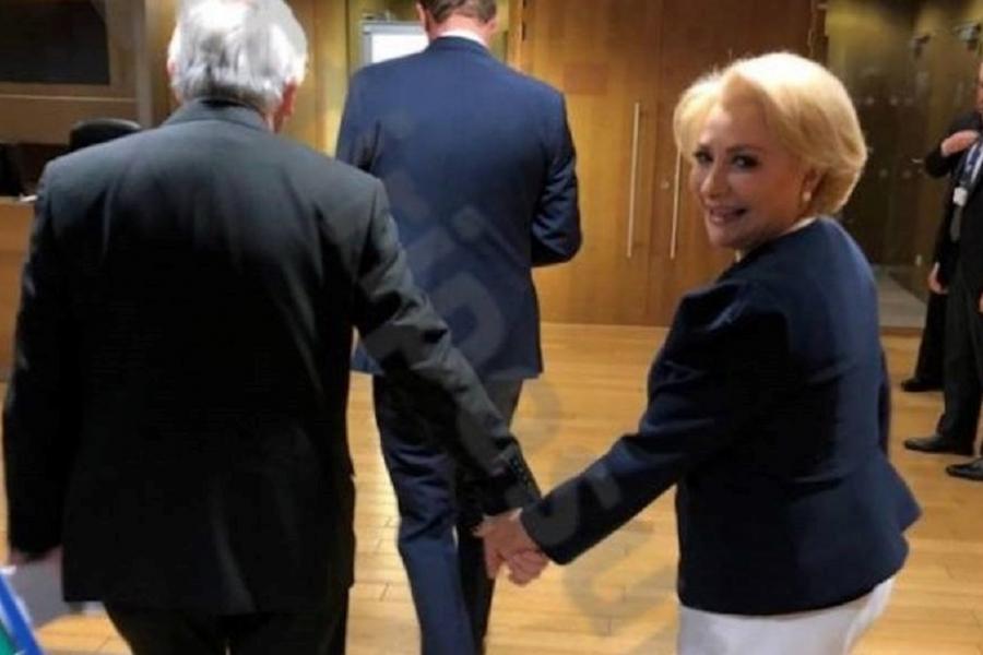 Viorica Dancila - Jean Claude Juncker - stiripesurse.ro