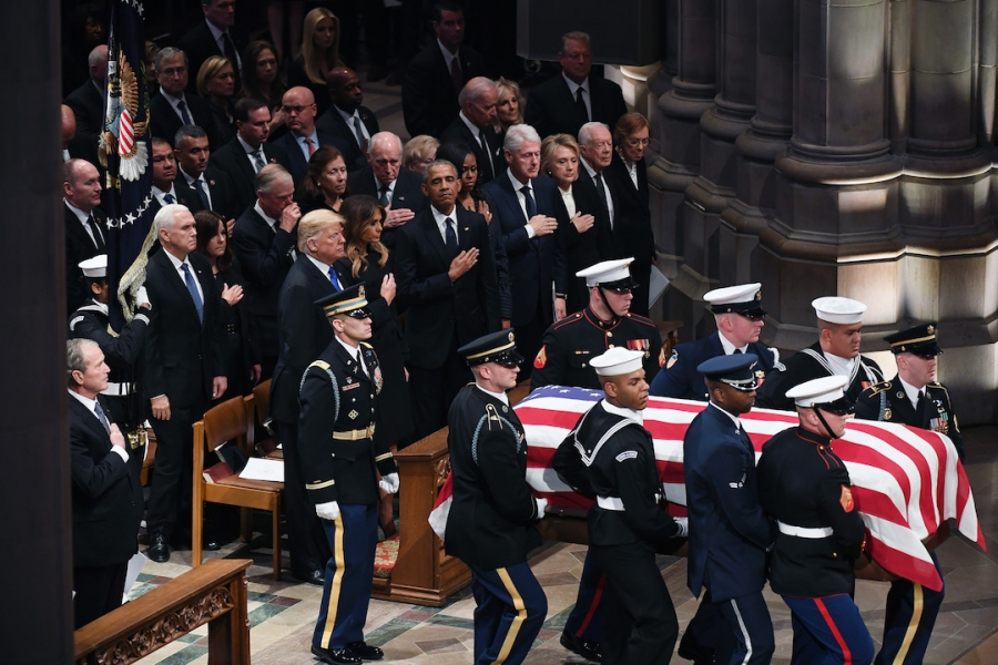 Funeralii George HW Bush