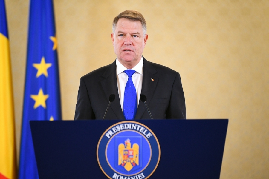 Klaus Iohannis, declarație Cotroceni