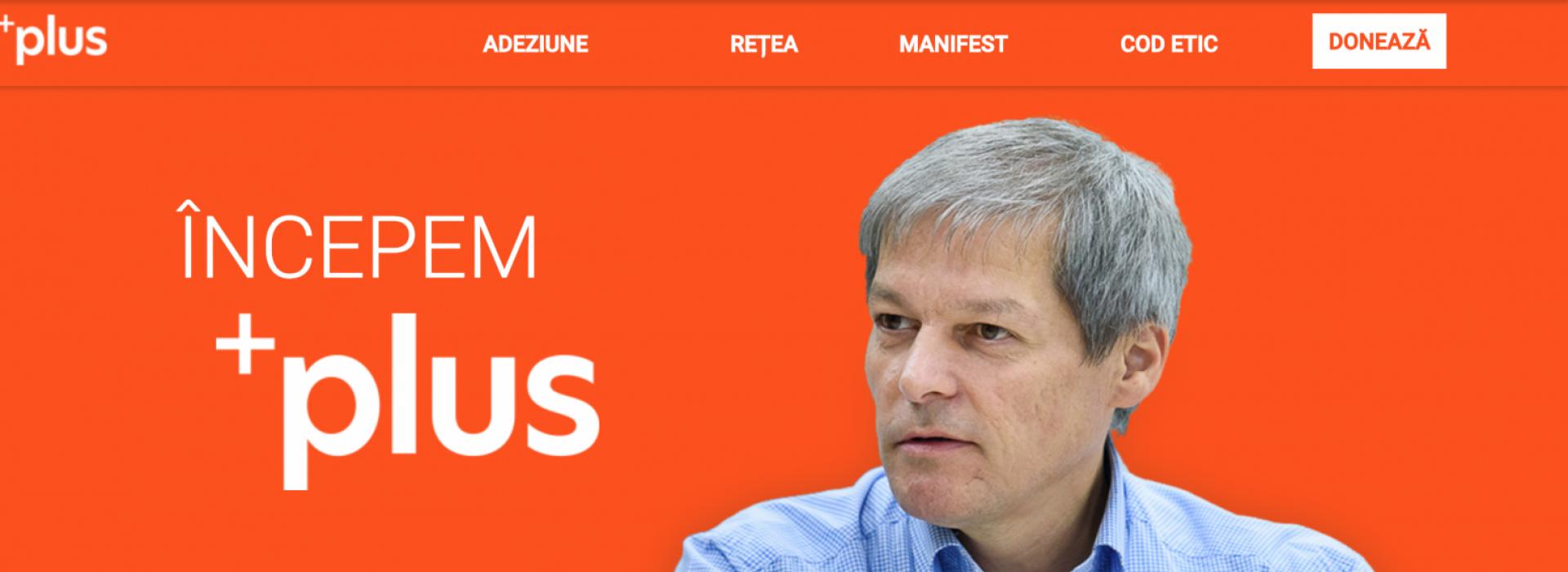 Dacian Cioloș, PLUS