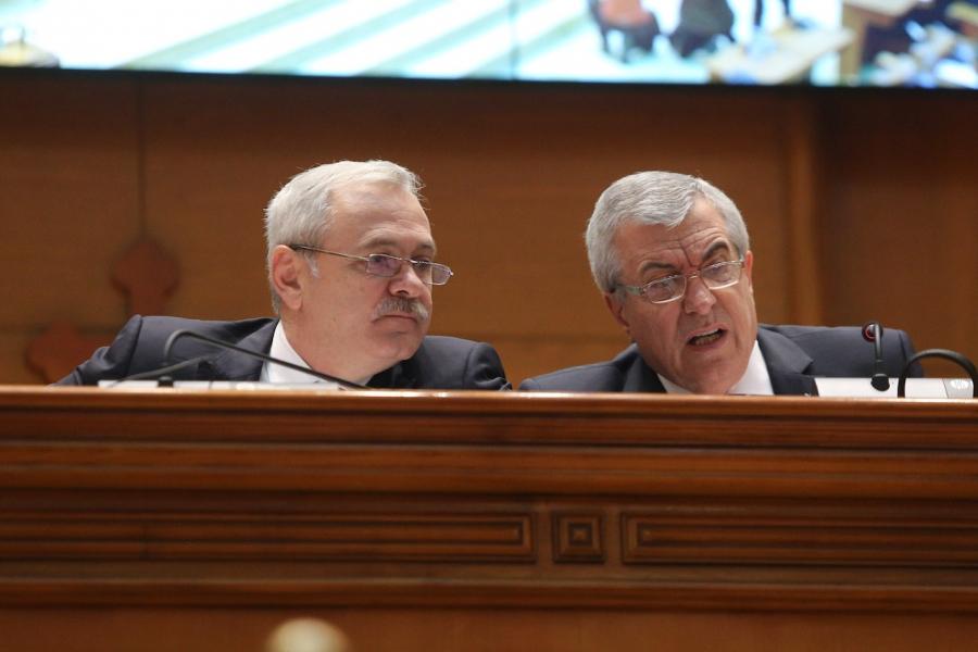 Liviu Dragnea și C.Popescu Tăriceanu