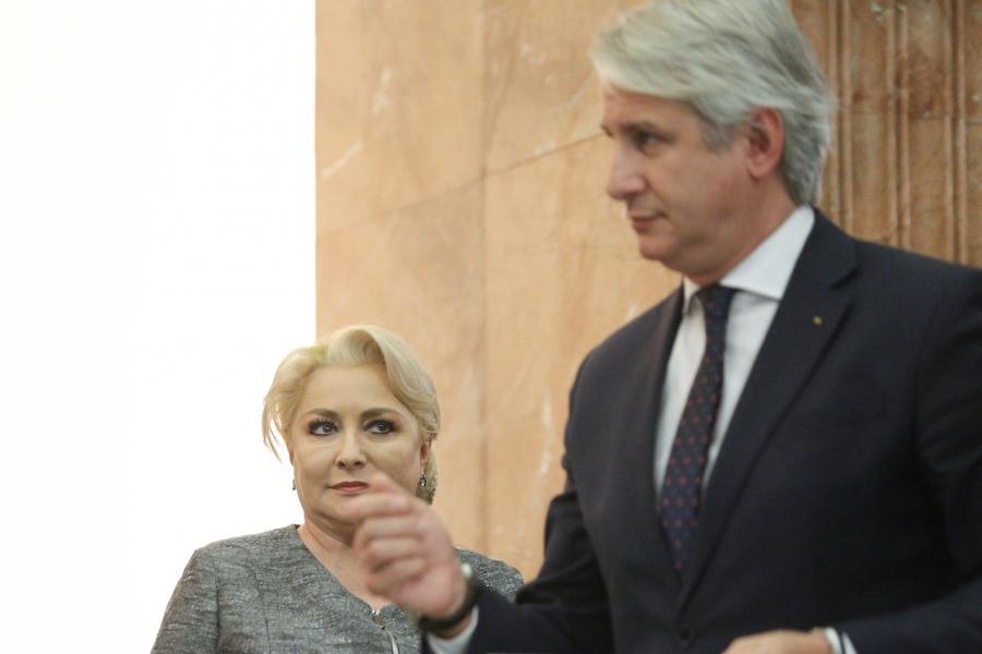Viorica Dăncilă și Eugen Orlando Teodorovici