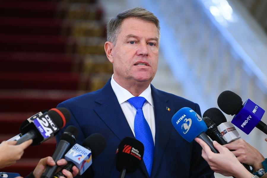 Klaus Iohannis la declarații