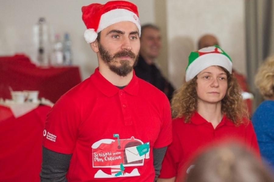 voluntari spiridusi Vodafone