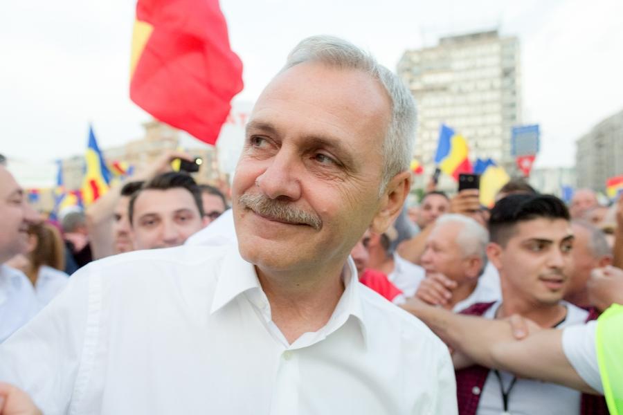 Mitingul PSD de la București