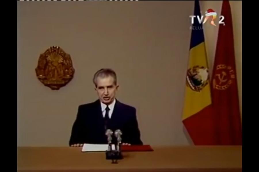 Nicolae Ceaușescu, Revelion