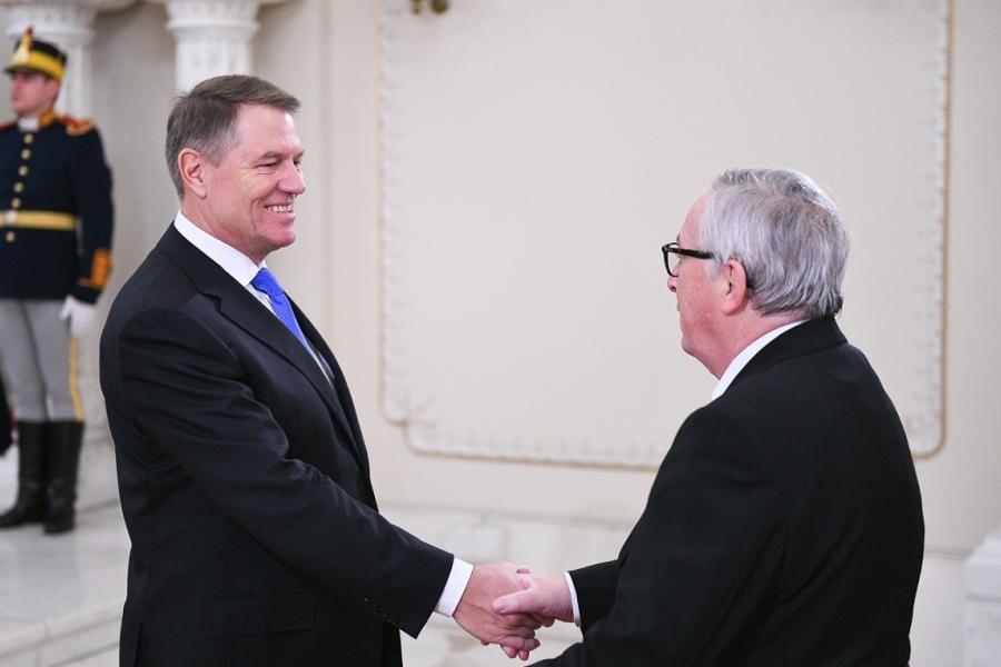 Jean Claude Juncker - Klaus Iohannis - presidency.ro
