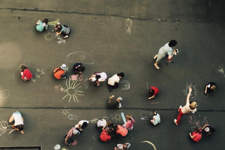 Orașul și copiii