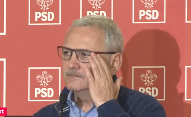 Liviu Dragnea cu ochelari - captura