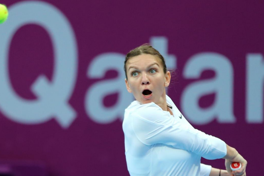 Simona Halep Doha WTA