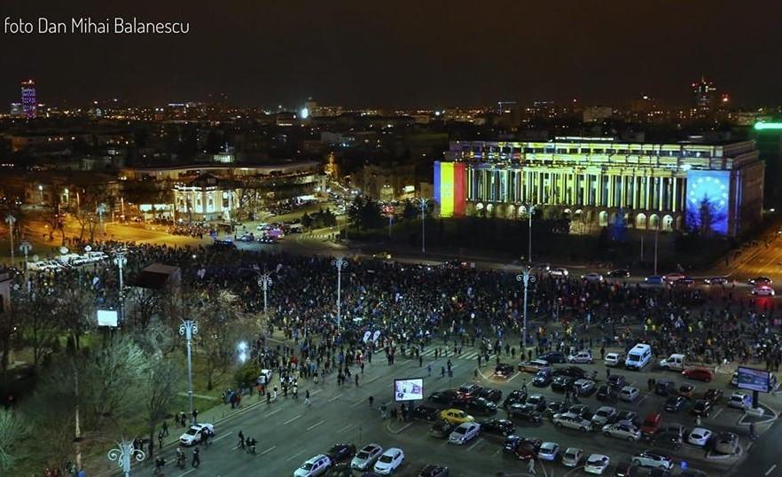 Protest 24 februarie (Foto Dan Mihai Bălănescu)