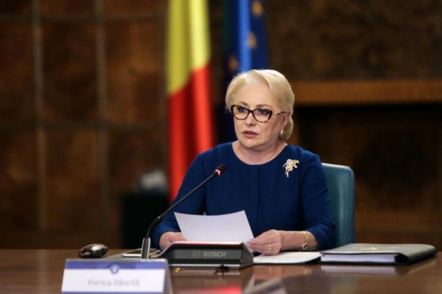 Viorica Dancila la Guvern - gov.ro
