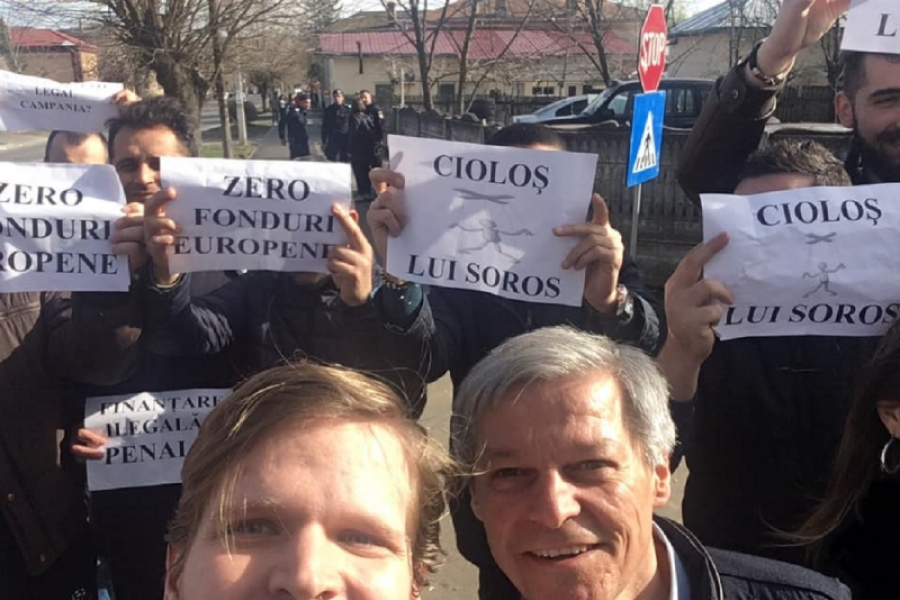 Dacian Ciolos in Teleorman - FB
