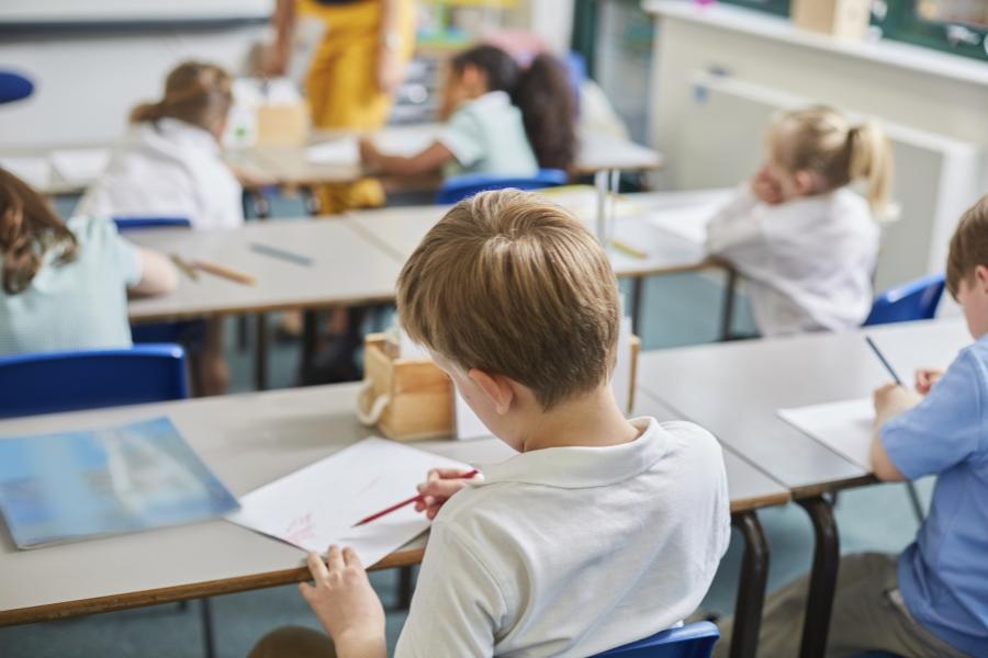 Copii în clasă
