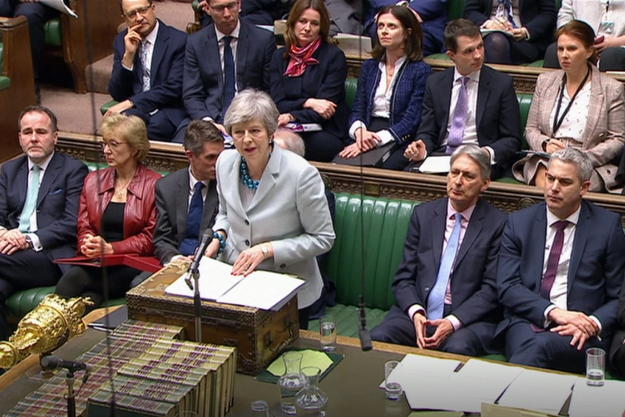 Theresa May - Parlament - Getty