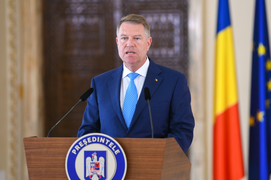 Klaus Iohannis, președinte, Cotroceni