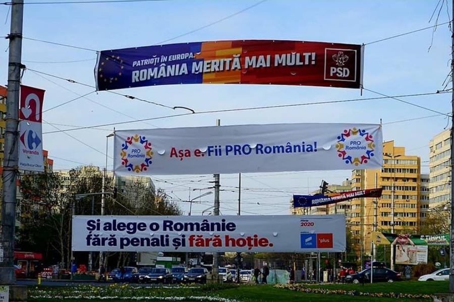 banner - PSD - PRO Romania - alianta 2020