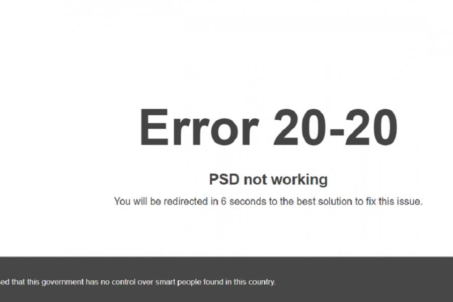 PNL - Romania merita mai mult - error 20-20